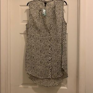 NWT Maurices Printed Tank